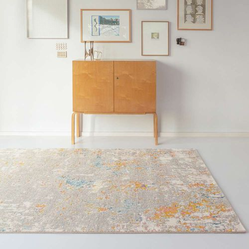 City Rugs Grey Multi Abstract AK990