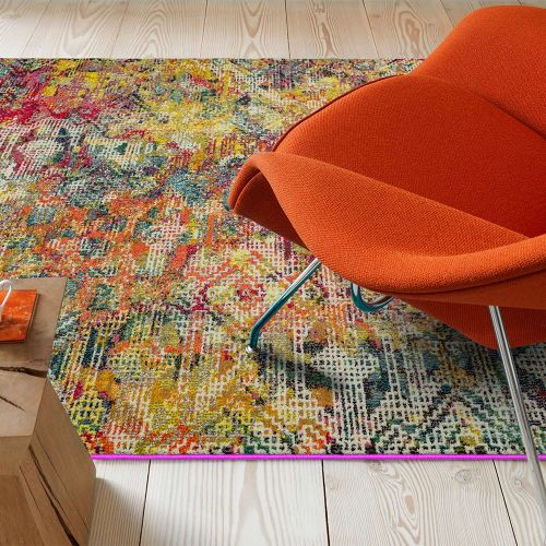 Colores Cloud Digital CO05 Abstract Multi Coloured Rug