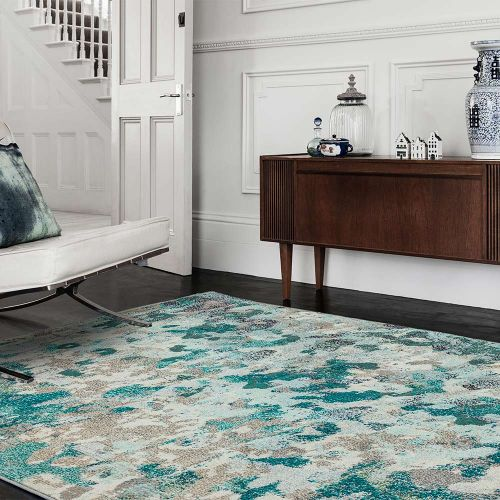 Colores Cloud Ethereal CO03 Abstract Multi Coloured Rug