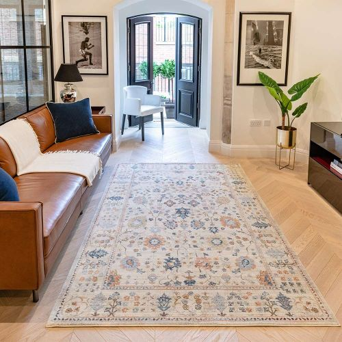 Heritage HRTG103 Ivory Multi Rug by Concept Looms