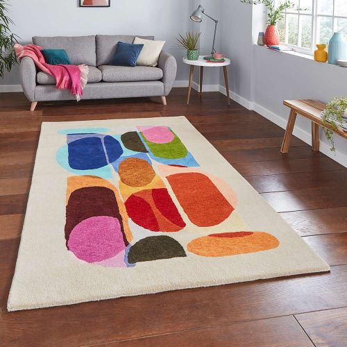 Inaluxe IX13 Drift Abstract Multi Rug