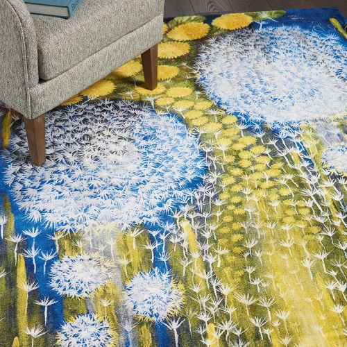 Patterned Lidas Collection LIDA1 Multi Rug