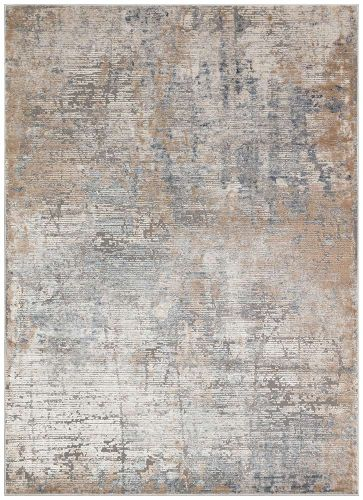 Luzon LUZ801 Blue Taupe Rug by Concept Looms 80x240cm