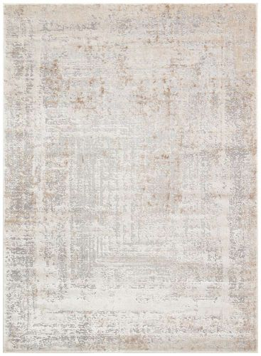 Luzon LUZ810 Ivory Grey Taupe Rug by Concept Looms