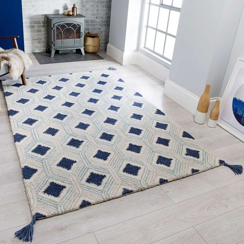 Marco Traditional Blue Rug