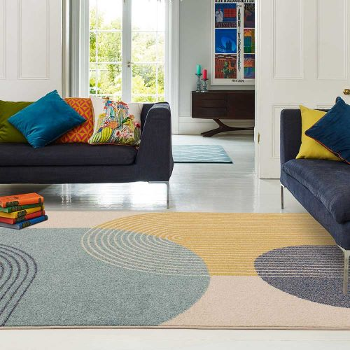 Muse Rug 15 Abstract Pastel