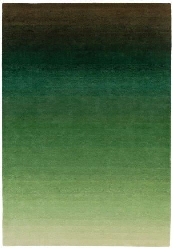 Ombre Rug OM04 Green Wool