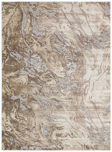 Pollo POLL107 Taupe Grey Rug by Concept Looms