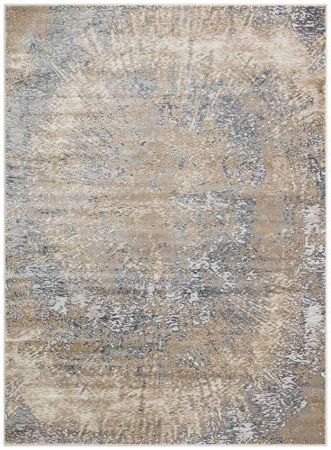 Pollo POLL109 Grey Taupe Rug by Concept Looms
