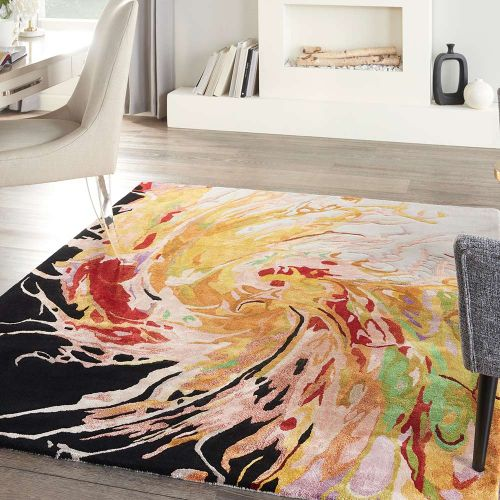 Prismatic PRS21 Multicolour Abstract Rug