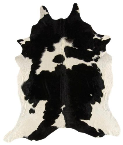 Rodeo Cowhide 01 Black & White