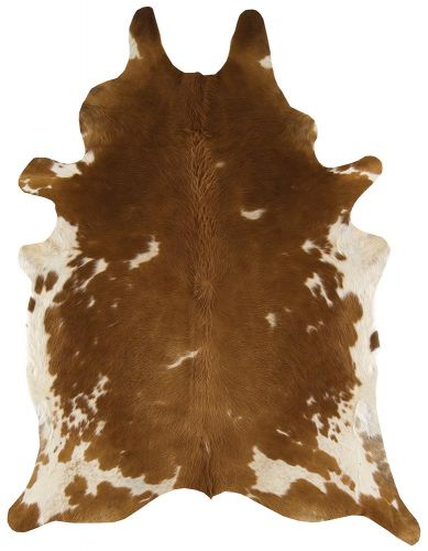 Rodeo Cowhide 02 Brown & White