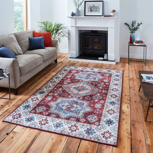 Topaz G4705 Traditional Red Rug