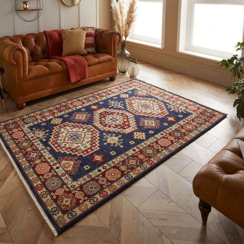 Traditional Navy Rug Nomad 751B