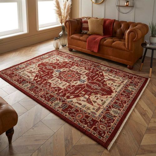 Traditional Red Rug Nomad 1801X