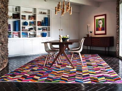 What makes a perfect dining room rug?