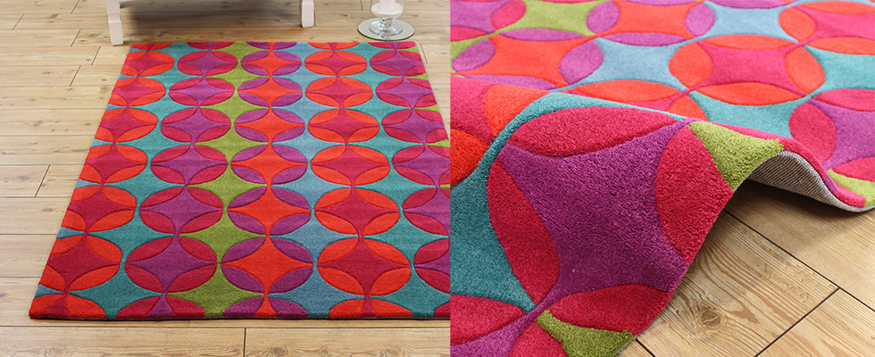 modern acrylic rug for contemporary spaces