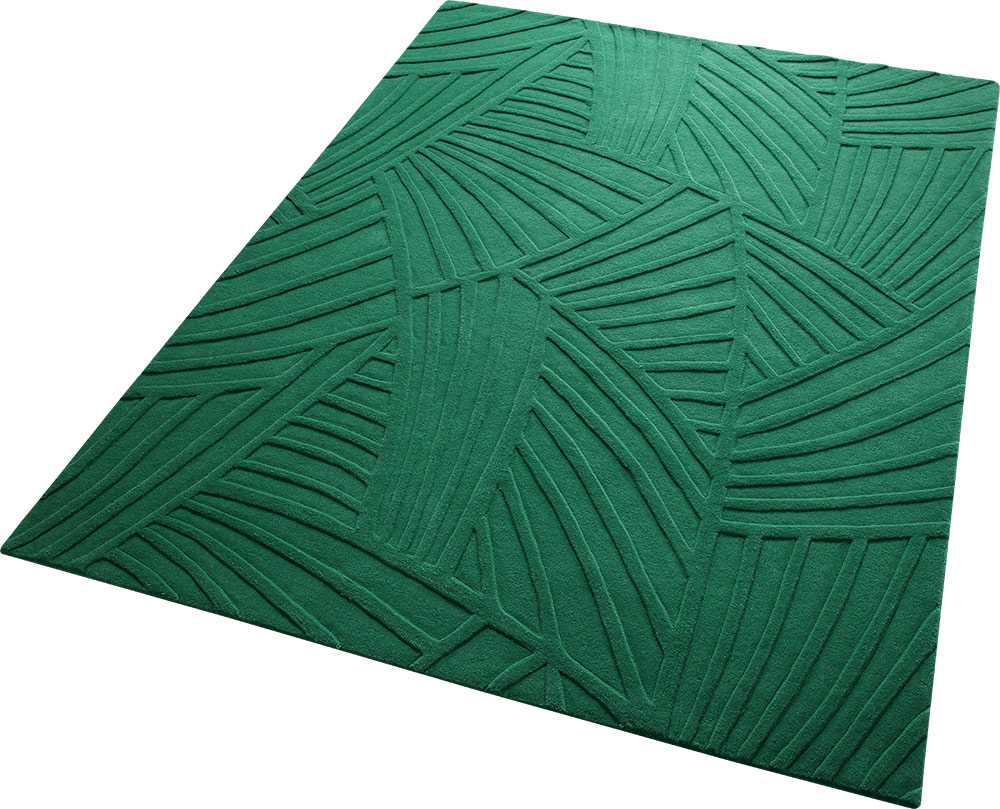 elisabethfredriksson by nature rug green rugs product emerald abstract