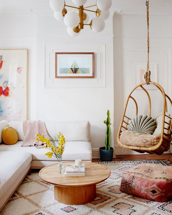 Boho Style Hanging Chair
